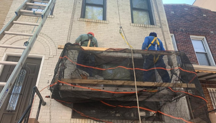 Masonry contractor WORK Bronx